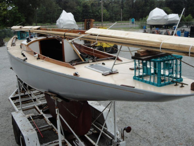 Wooden Sailboats For Sale >> Luders 16 For Sale Woodenboat Magazine Beautiful Boats Wooden