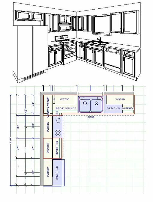 Kitchen Layouts Small Kitchen Floor Plans Kitchen Floor Plans Small Kitchen Renovations