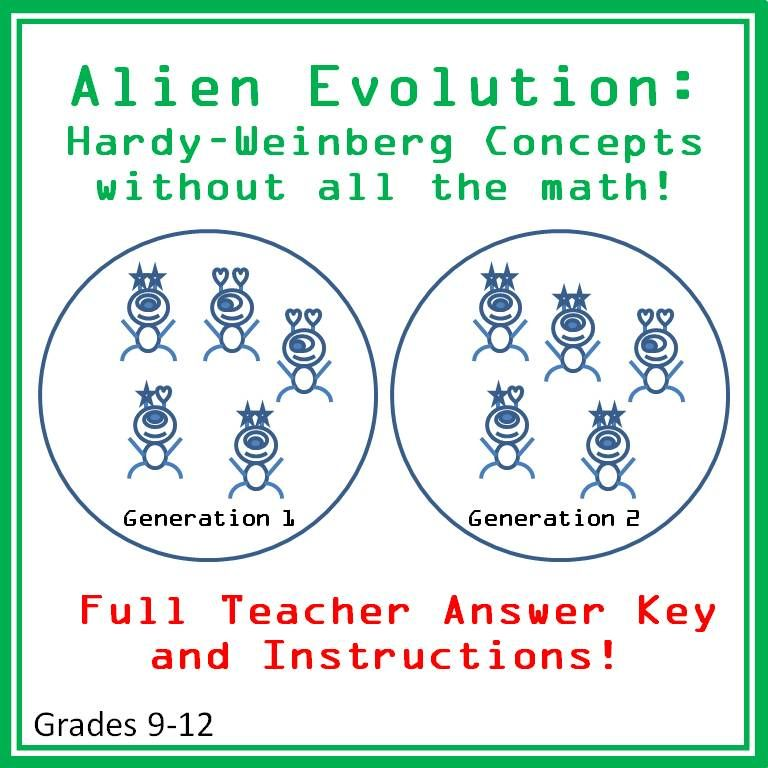 Alien Evolution A Hardy Weinberg Introduction To Evolution