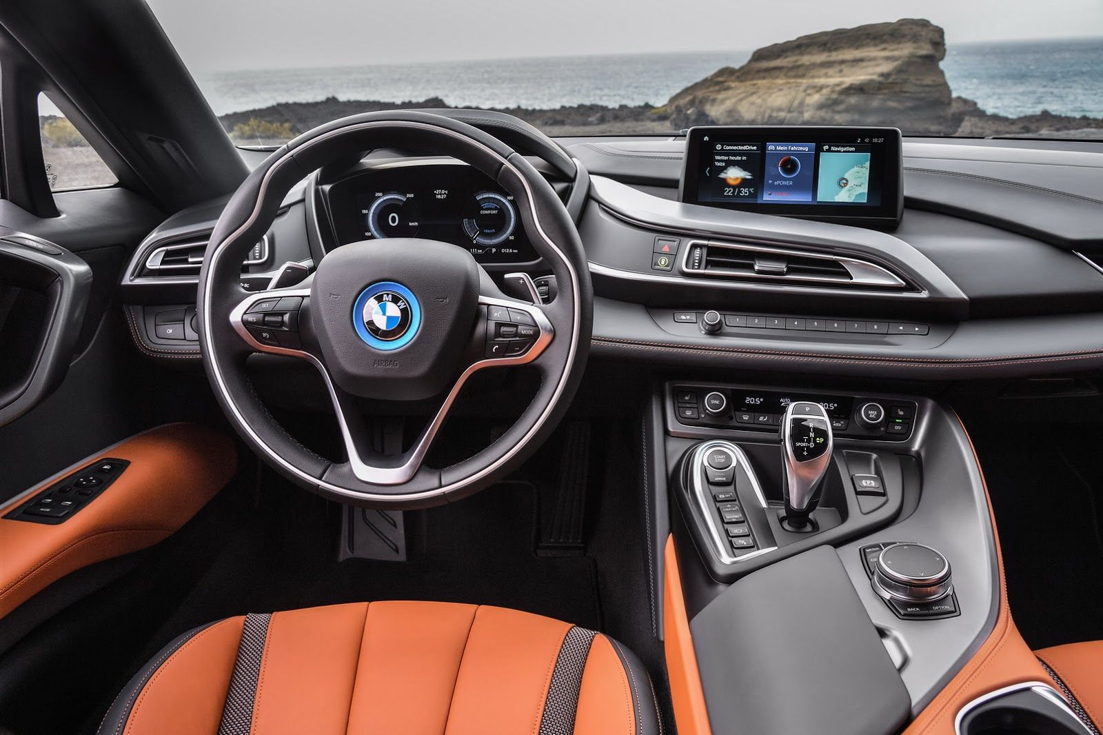 Bmw Drops The Top On New I8 Roadster And Upgrades The Coupe Too