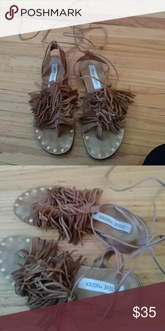 Steve madden sandal Steve madden sandal great condition Steve Madden Shoes Sandals