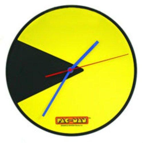 Pacman Seklinde Sari Siyah Duvar Saati 80 Lerin Vazgecilmez Oyunu Olan Pacman Artik Duvar Saati Versiyonuyla Karsinizda Sirin Mi Sir Clock Wall Clock Pacman