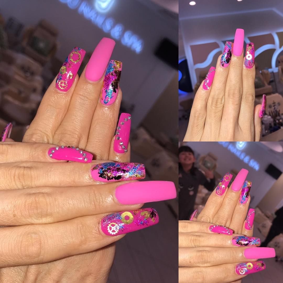 120+ Super Cute Summer New Nail Color Ideas Year 2020 in