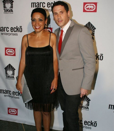 Clothing Entrepeneur Marc Ecko and his stunning wife