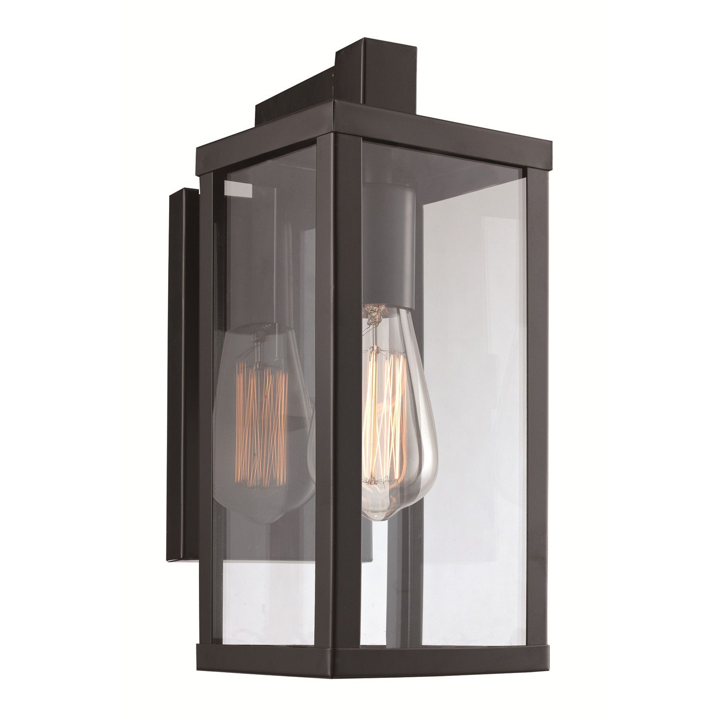 Exterior Wall Lights Magnificent Transglobe Lighting 1 Light Outdoor Wall Lantern  Outside Entry 2018