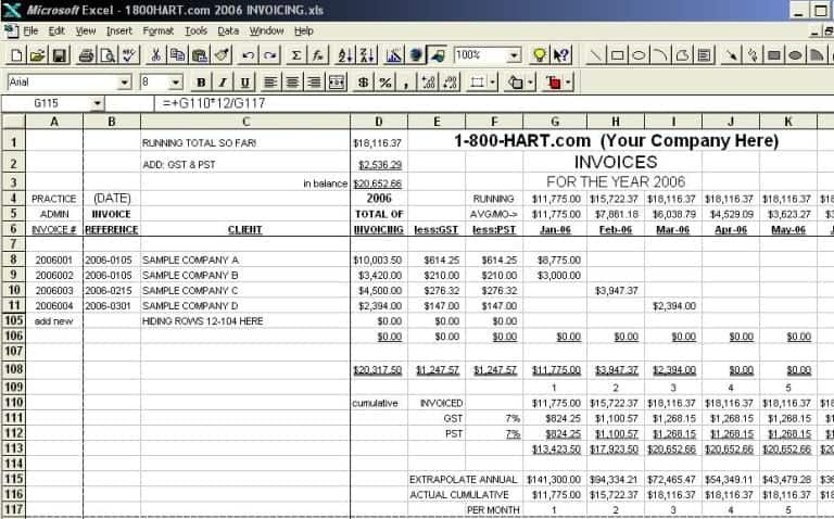 Ms Excel Bookkeeping Example Bookkeeping Templates Business Budget Template Excel