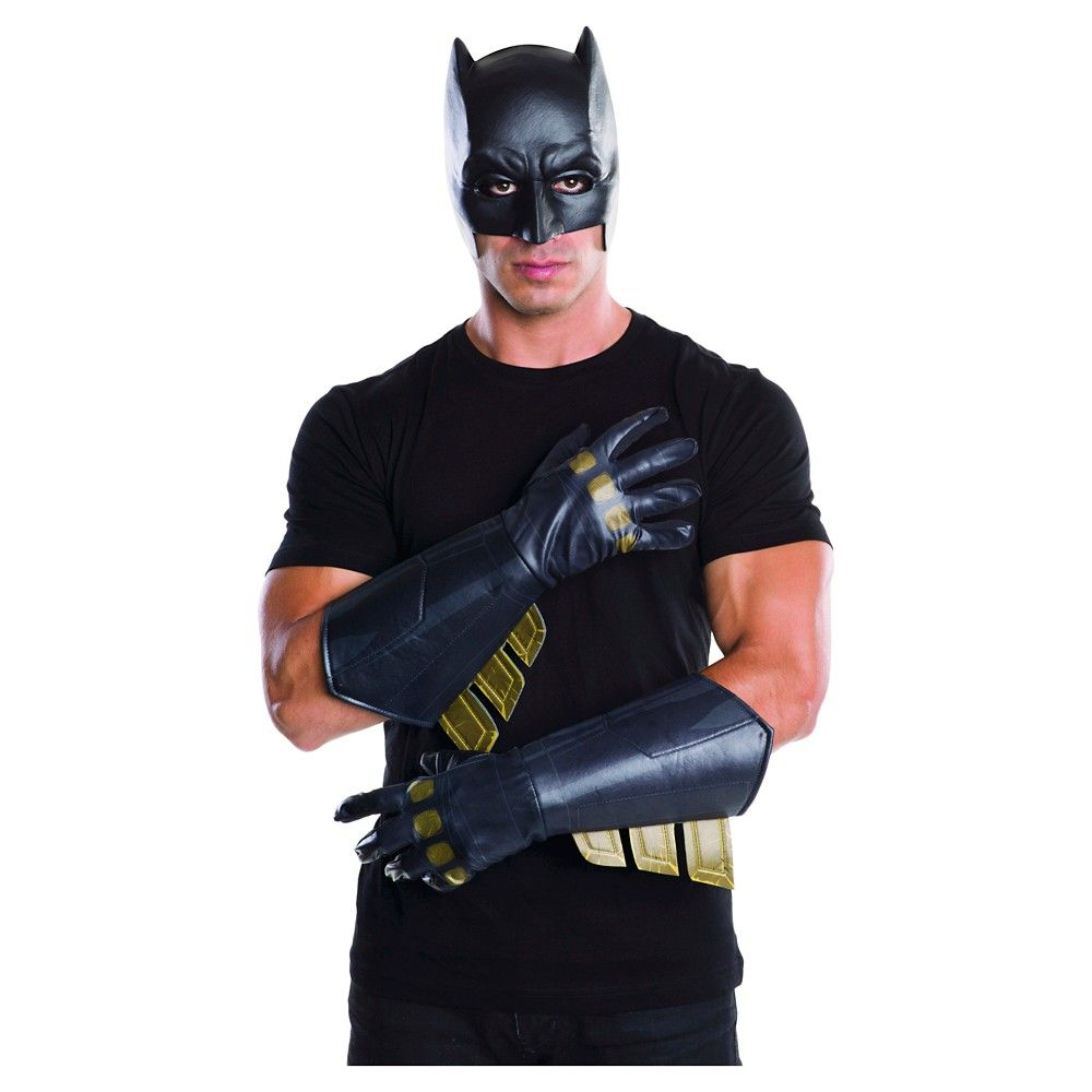 Adult/'s Deluxe Batman Dawn Of Justice Armored Gauntlets Costume Accessory