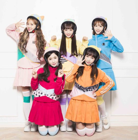 CRAYON POP - Ellin + ChoA + Soyul + Way + Geummi