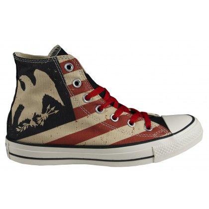 Converse Chucks Hi Black Fire Brick (Schuh) | Chucks von