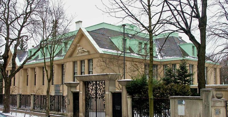 Villa Primavesi, Vienna, by Josef Hoffmann, ca. 1915.