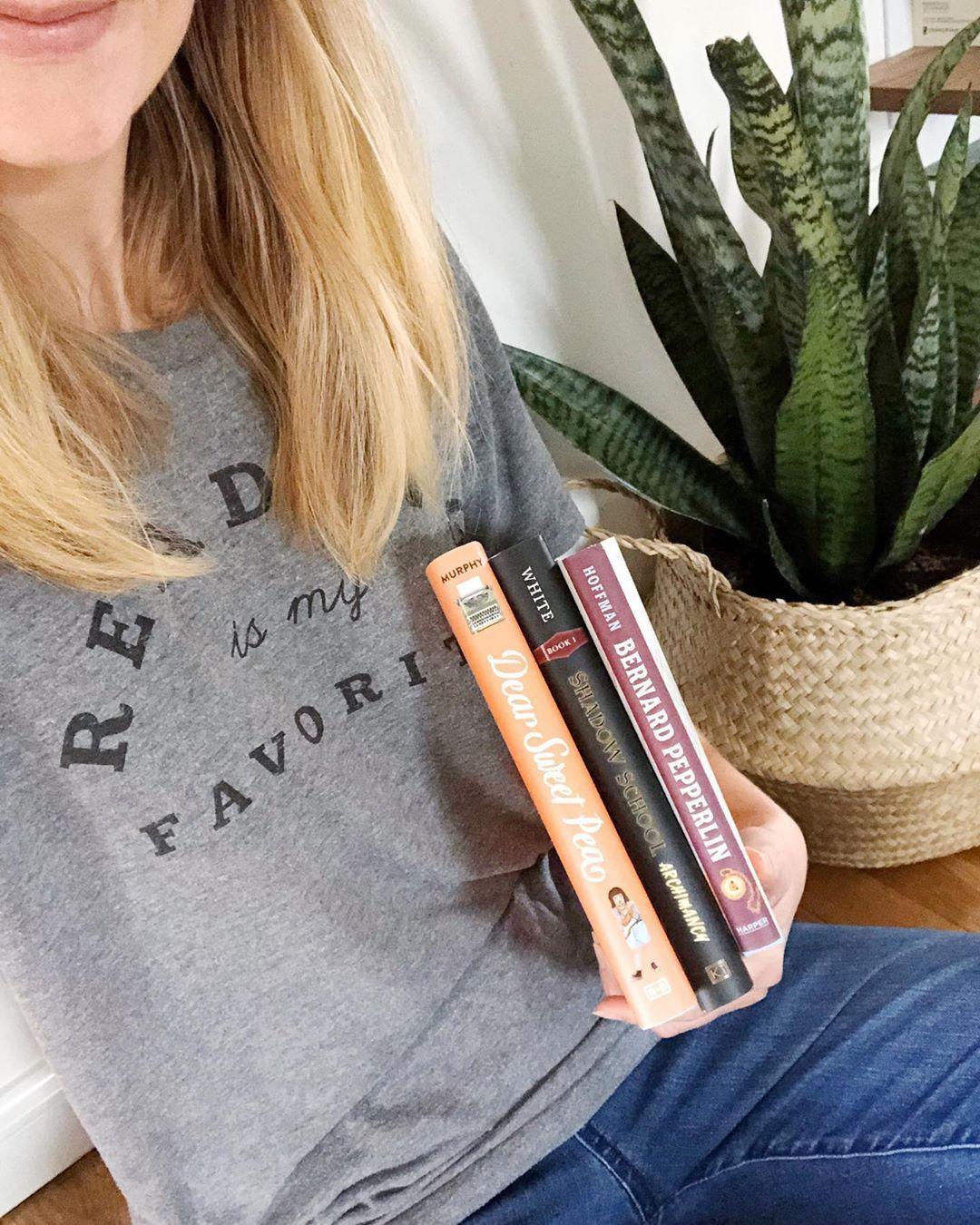 Books shown dear sweet pea by julie murphy bernard