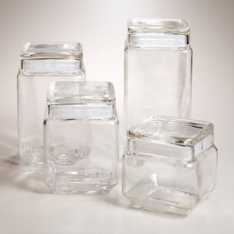 These Glass Canisters Are The Clear Choice For Countertop Storage