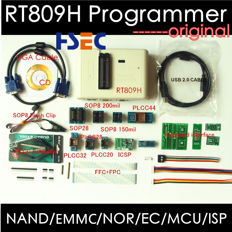 Cheap rt809f programmer, Buy Quality flash 2 Directly from