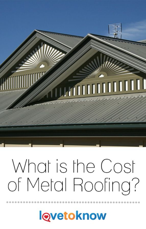 Cost Of Metal Roofing Metal Roof Cost Roofing Metal Roof