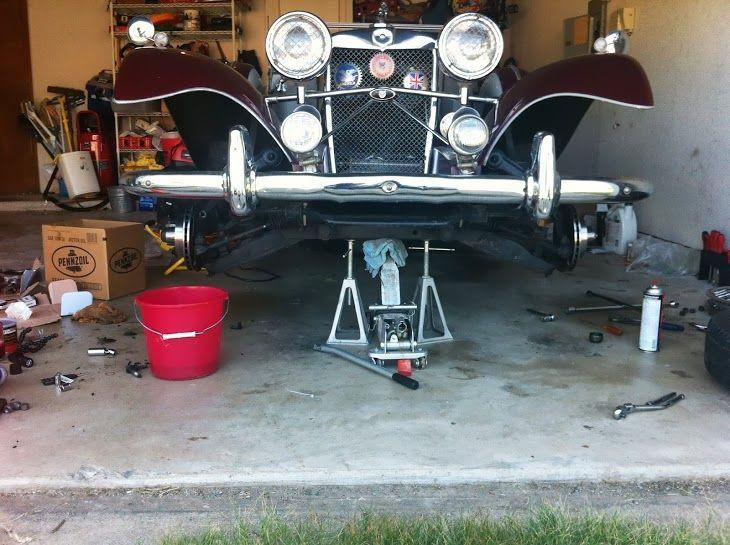 New brake pads, rotors, wheel bearings