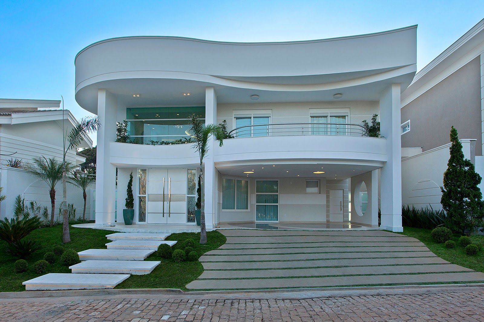 Fachadas de casas de sobrados – veja 50 modelos lindos! - Decor ...