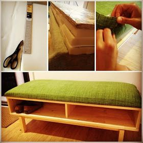 Ikea Hackers Shoe Bench From Entertainment Center Home