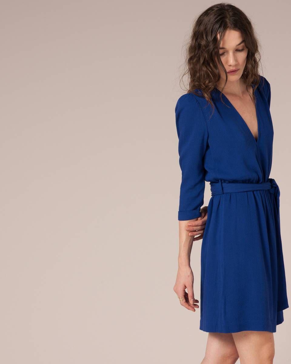 Robe bleu sessun