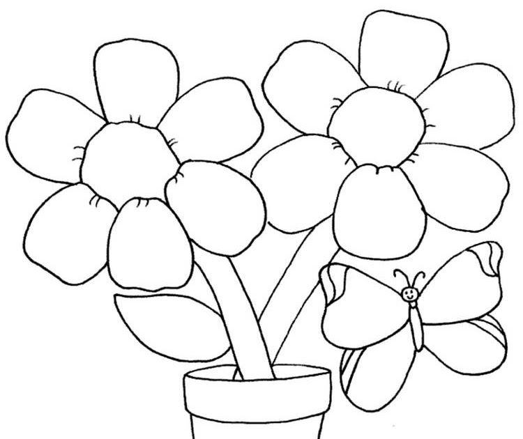 Menggambar Bunga Sakura Gambar Bunga Yang Mudah Ditiru