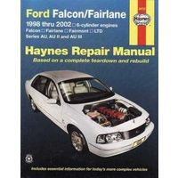 Ford Falcon Fairmont Au 1998 2002 Workshop Repair Manual With Mpn Ha36733 Chrysler Voyager Repair Manuals Automotive Repair