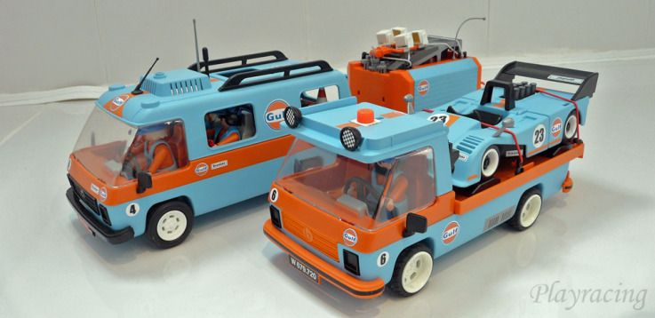 Playracing Camper Wintersport Cool Sports Cars Playmobil Retro Toys