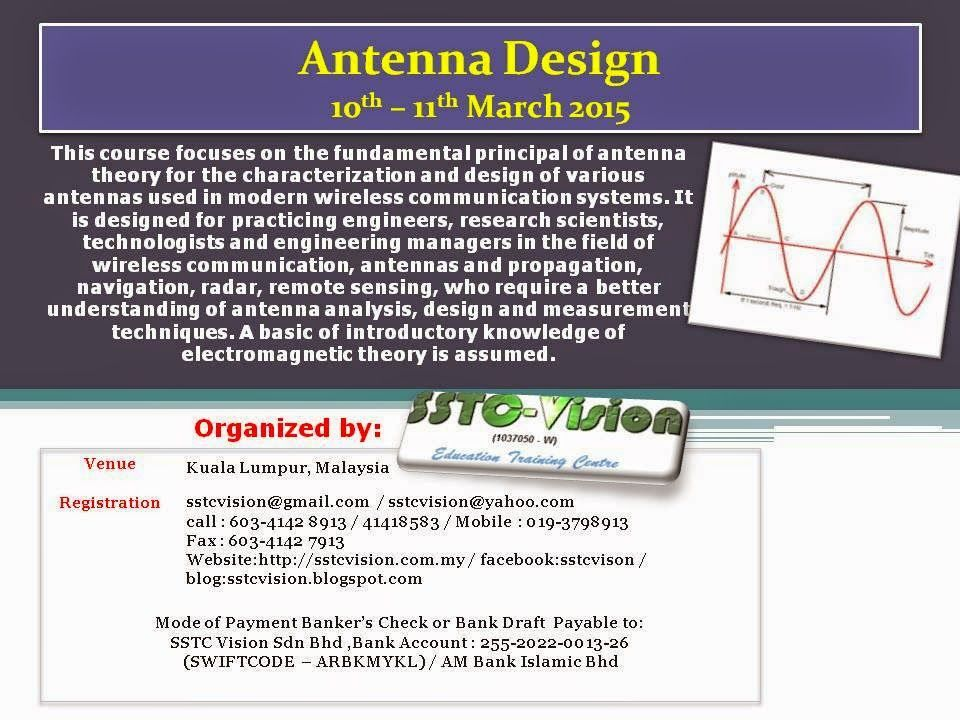 SSTC Vision Sdn Bhd: TRAINING ON ANTENNA DESIGN | SSTC