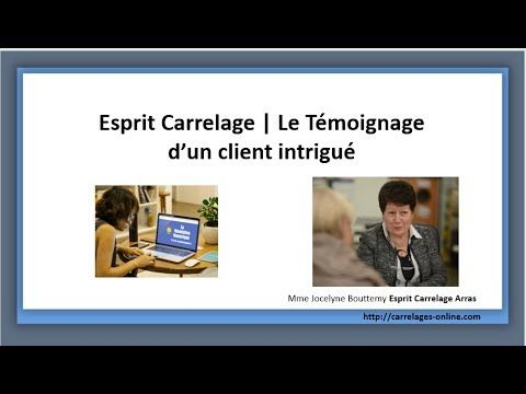 Esprit Carrelage Le Temoignage D Un Client Intrigue Carrelage Poser Du Carrelage Carrelage Salle De Bain