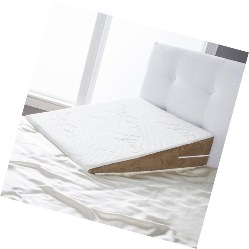 Avana Slant Bed Wedge Acid Reflux Memory Foam Pillow King Https T