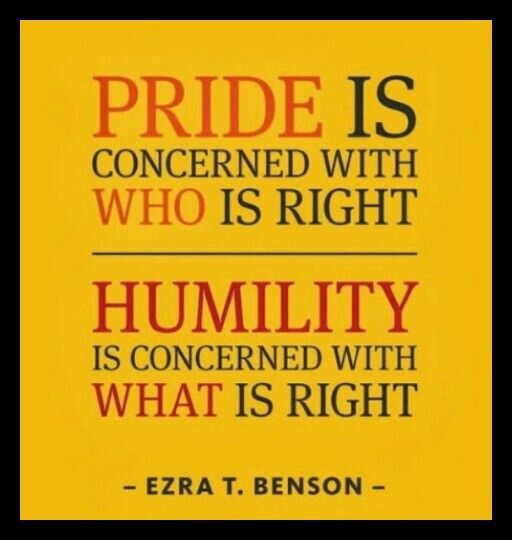 Pride Vs Humility Words Quotable Quotes Quotations