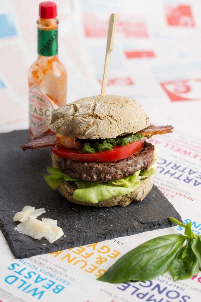 Pesto burger sans gluten cc generalrecipes pinterest - Recettes cuisine sans gluten ...