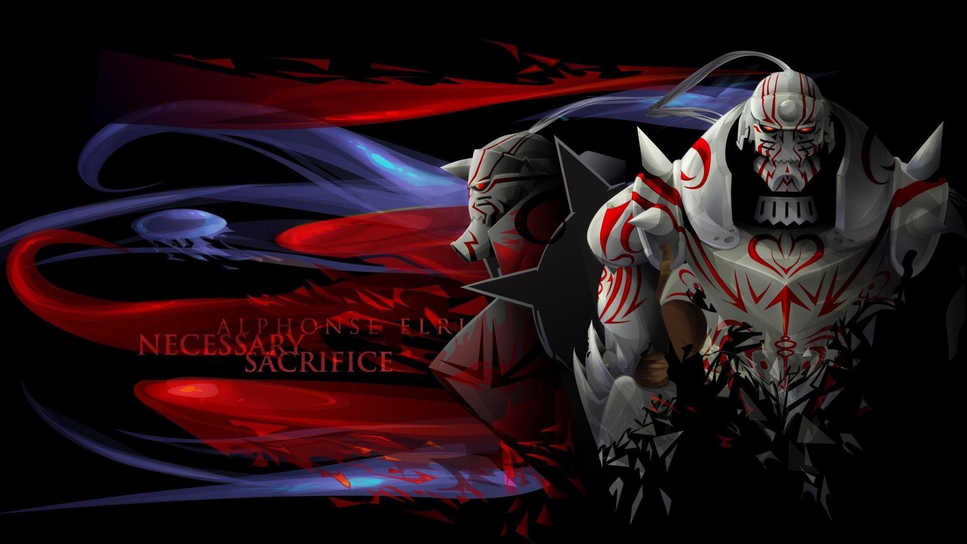 Fullmetal Alchemist Brotherhood Desktop Wallpaper