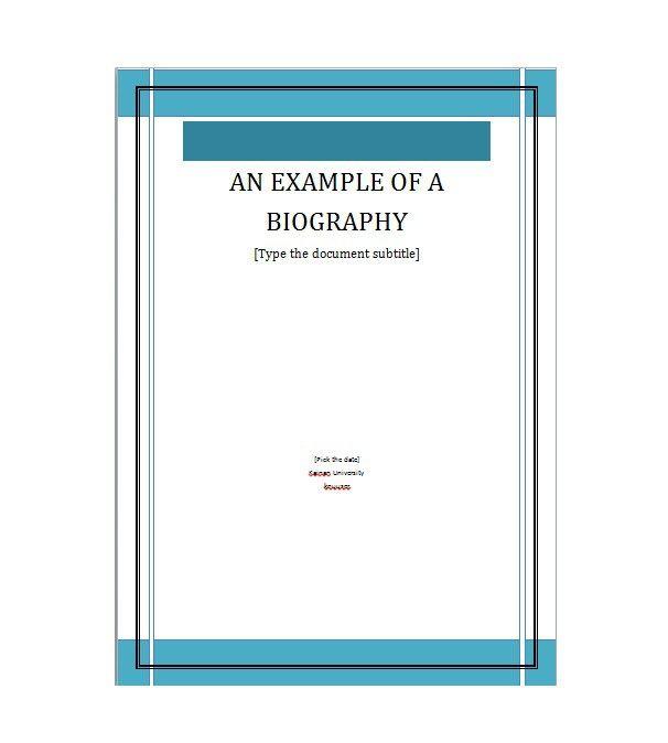 Bonus Letter Template Extraordinary Bonus Biography Template 01  Beauty&tips  Pinterest  Template