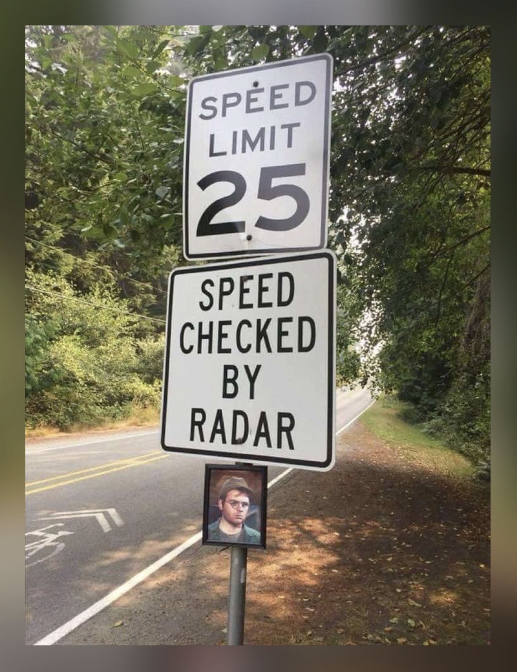 Police signs Funny