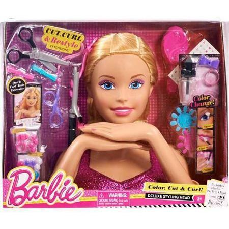Pin On Barbie Styling Head