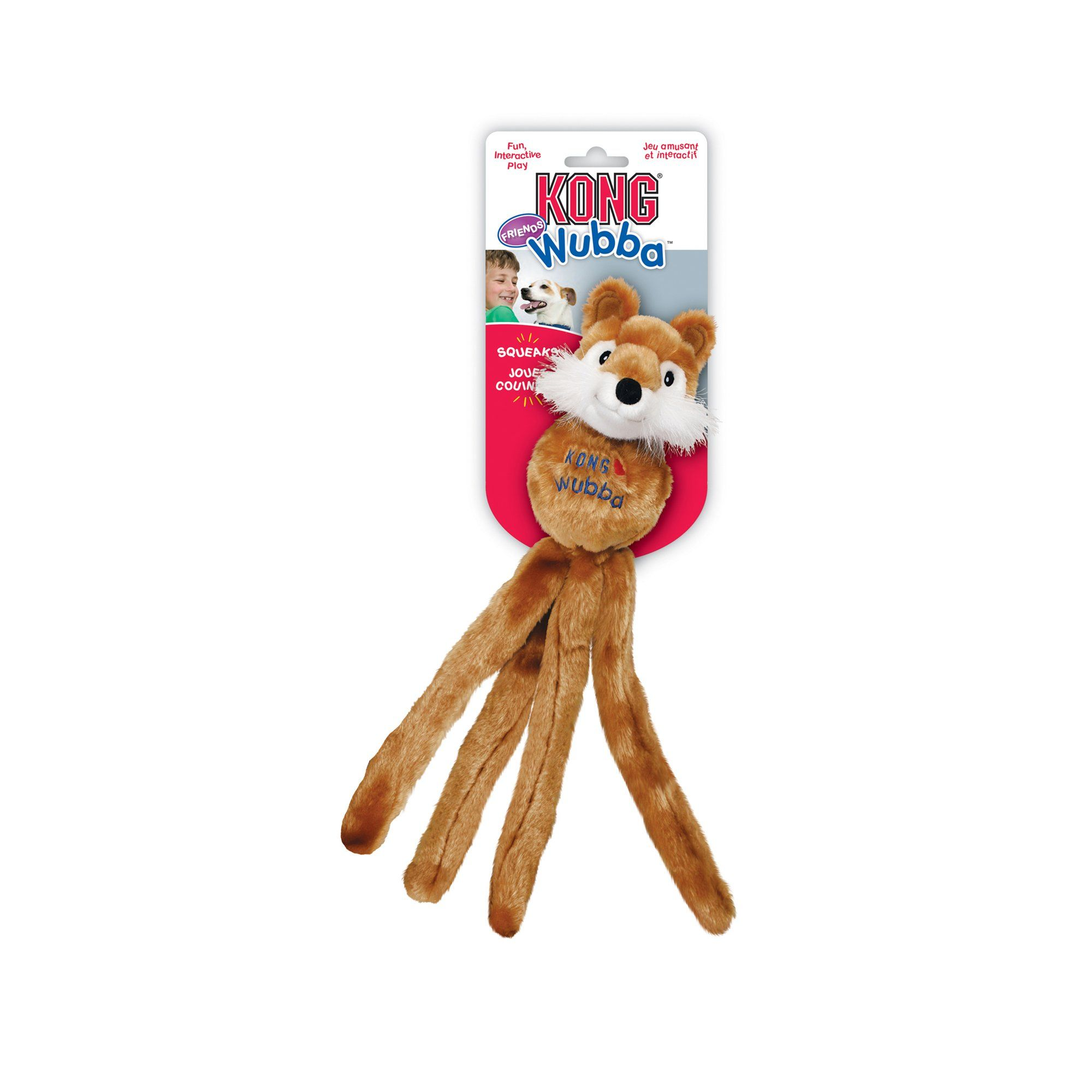 Kong Wubba Friends Large Assorted Dog Toys Small Puppies Toys