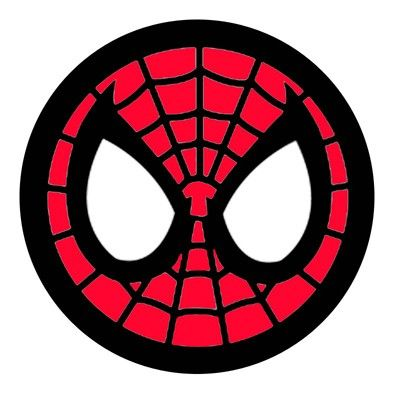spiderman face logo spiderman mask clipart 23431wall jpg rh pinterest com spider man homecoming face logo