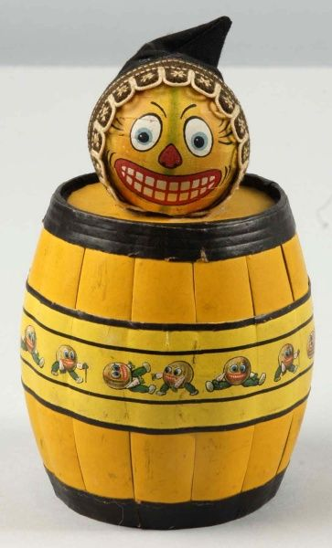 vintage pumpkin head barrel...love...