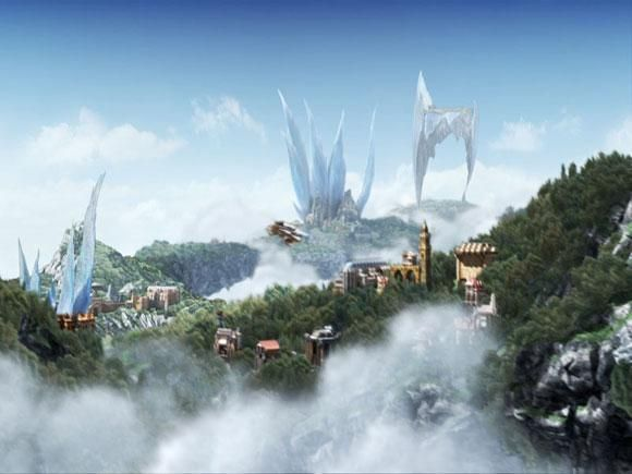 Favourite Locations Ff Wa Final Fantasy Fantasy Landscape