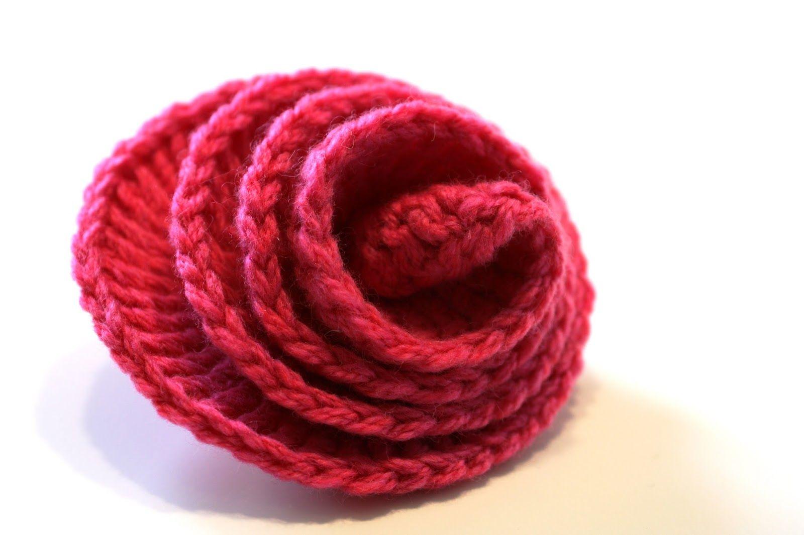 Patron flor simple de crochet   Técnicas y patrones   Pinterest ...