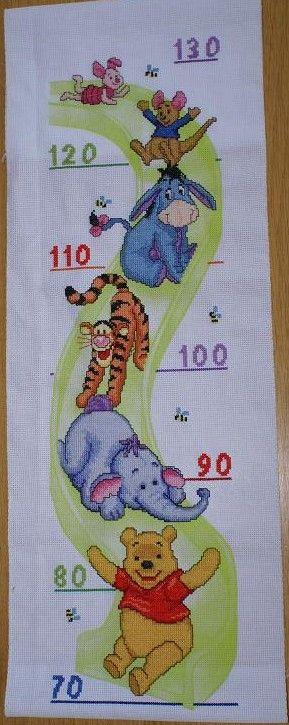 Winny De Pooh Kids Rugs Growth Chart Kids