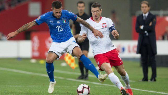 إيطاليا تحقق فوزا قاتلا على حساب بولندا League