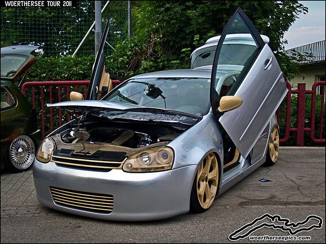 Custom Silver Vw Golf Mk5 Volkswagen Polo Gti Volkswagen Polo Vw Polo Gti