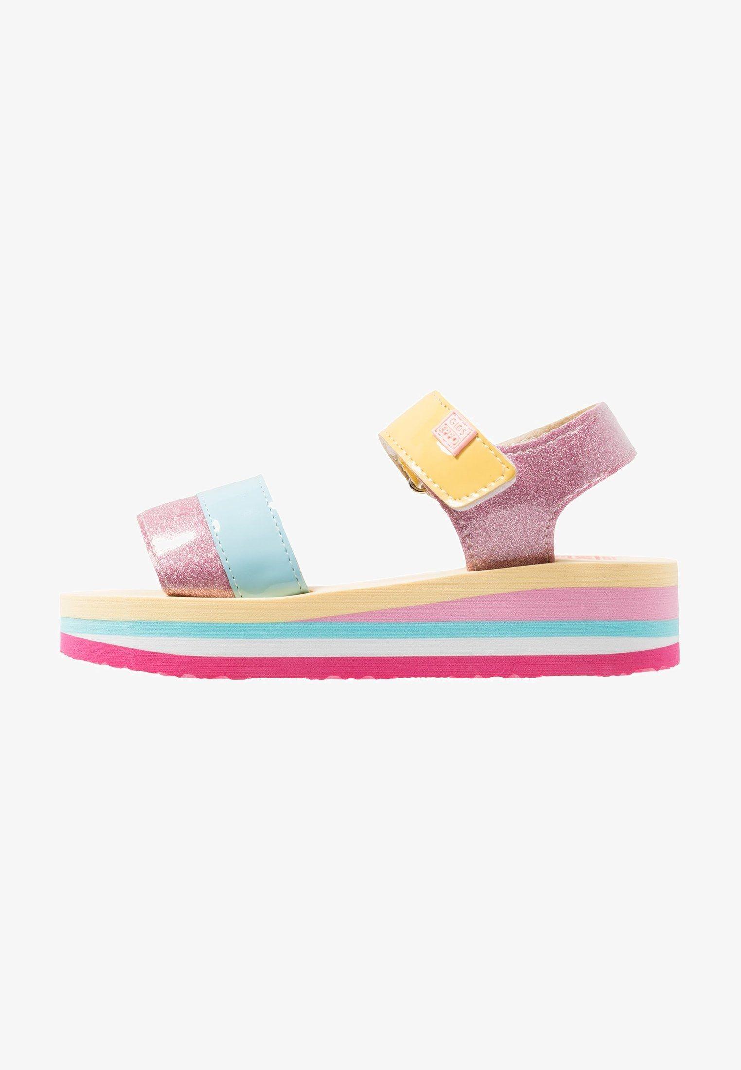 Campania Riemensandalette Rosa Zalando De Kinder Schuhe Schuhe Fur Madchen Sandalen