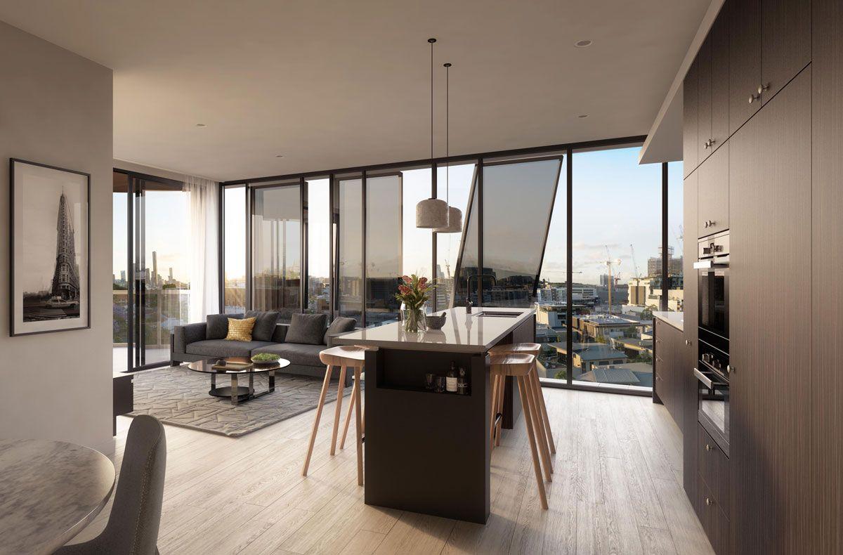 Less Is More Clean Lines Fresh Colour Schemes That Won T Date  # Muebles New Style Villa Tesei
