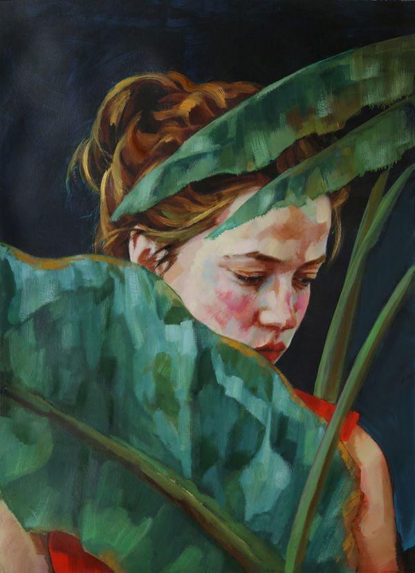 XENIA HAUSNER | Paintings | Art, Portrait acrylic und ...