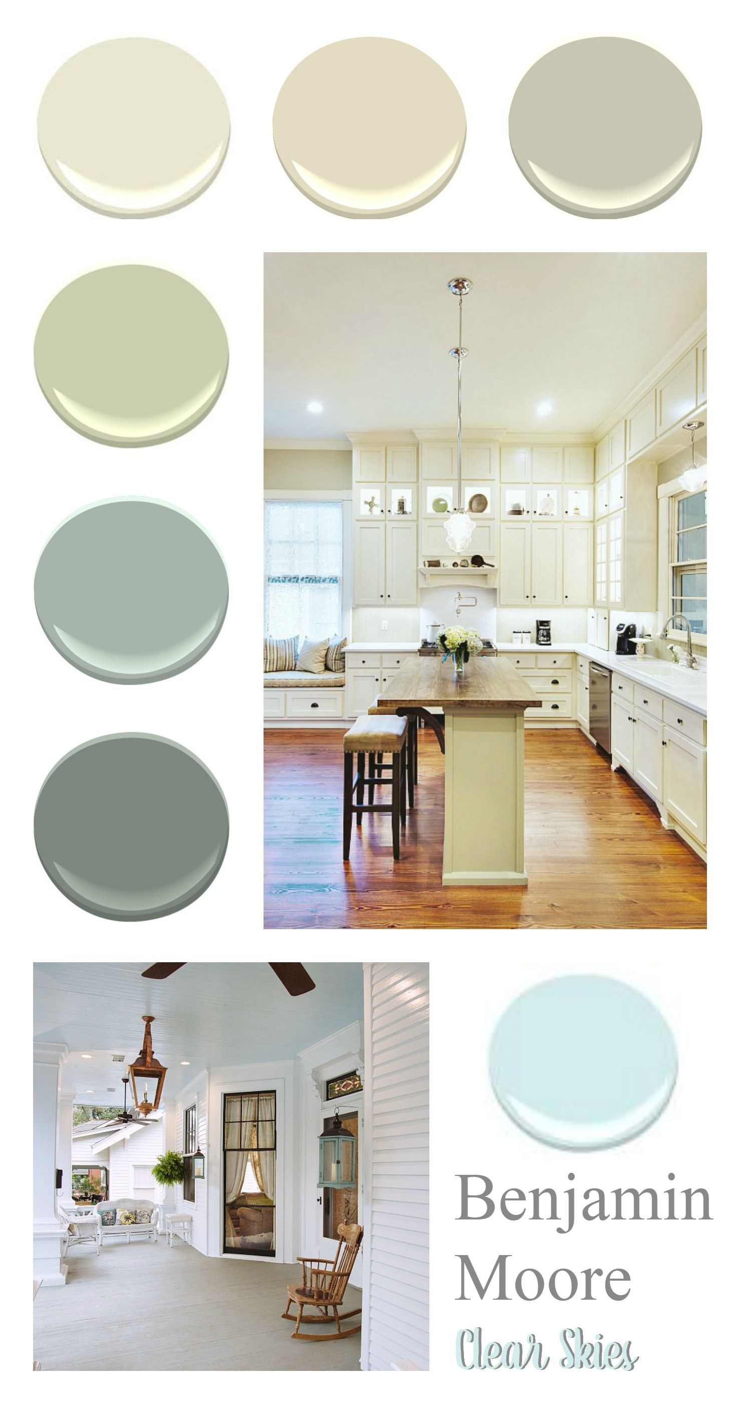 Southern home paint color palette hometalk spring - Benjamin moore interior paint colors ...