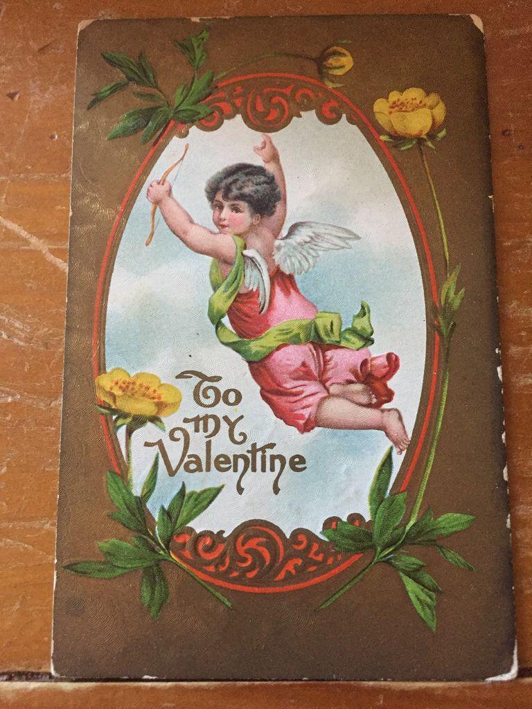 Vintage postcard Valentine