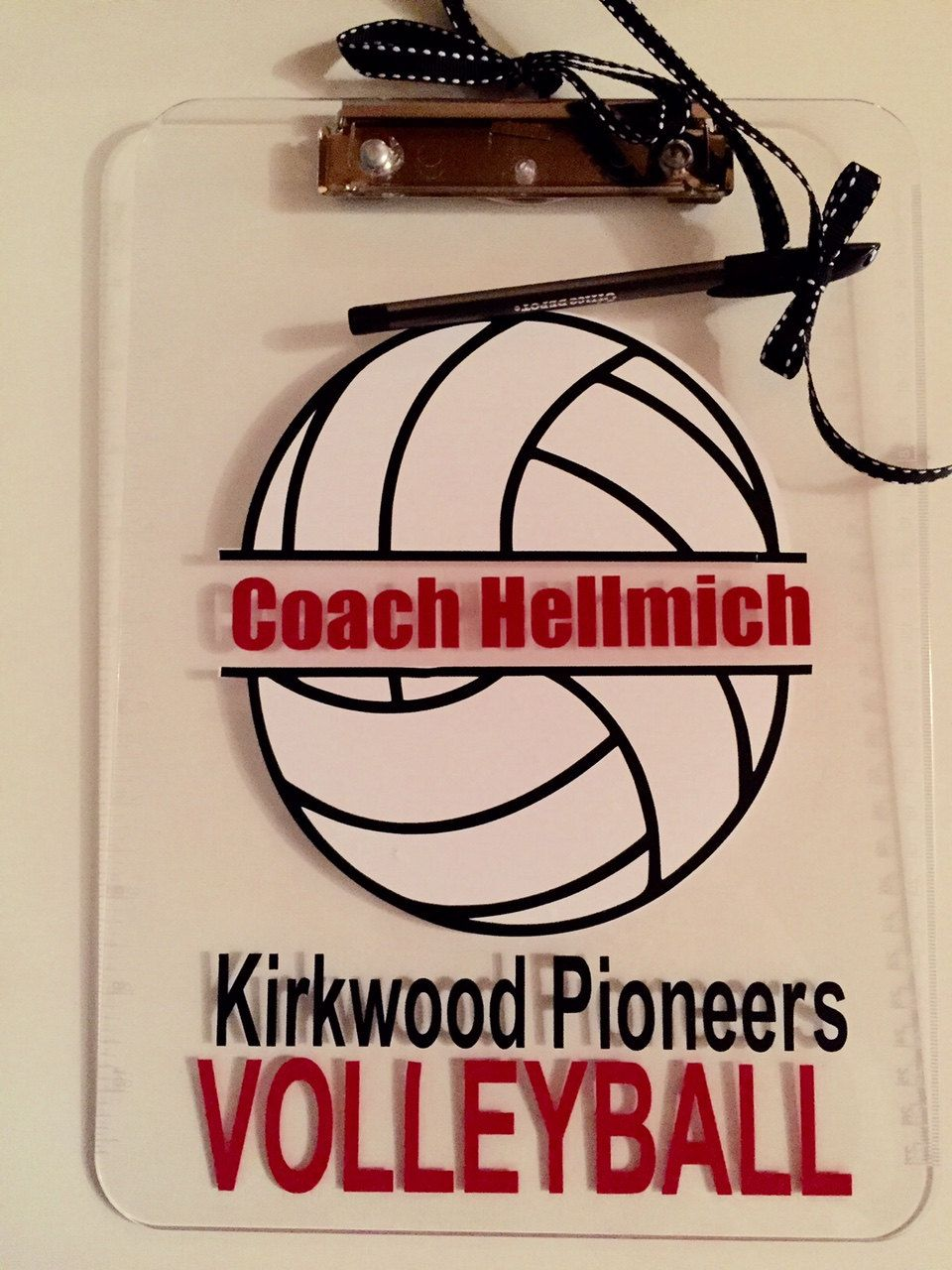 Volleyball Coach Gift Personalized Volleyball Clipboard With Name Volleyball Player Team Gift Idea Custom Clear Or Storage Clipboard Case Coaching Volleyball Coach Gifts Volleyball Gifts