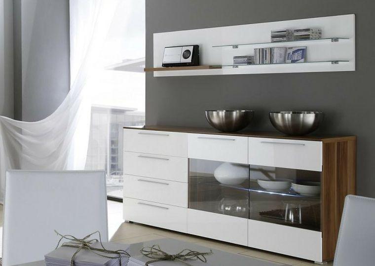 Decorar aparador para un interior moderno proyectos que for Aparadores modernos baratos