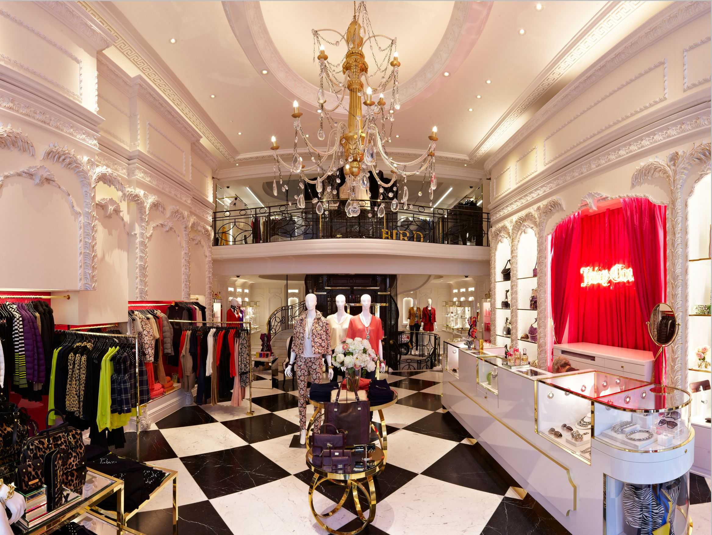 FormRoom for Juicy Couture | Bespoke Chandelier | #JuicyCouture #Retail #Lighting #Bespoke #Chandelier